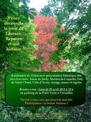 Affiche balade Fausses-Reposes